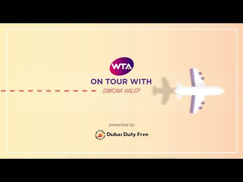 On Tour with Simona Halep presented by Dubai Duty Free