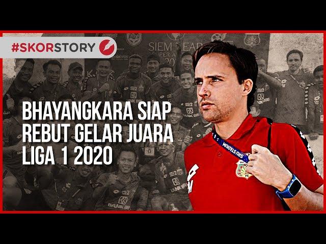 BHAYANGKARA FC, SANG KUDA HITAM PENANTANG GELAR LIGA 1 2020