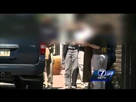 Two arrested in west Omaha FBI raid