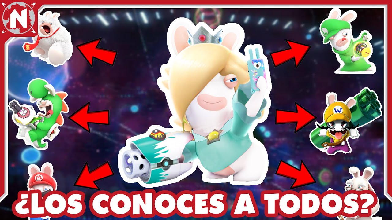 TODOS los RABBIDS de Super Mario que EXISTEN