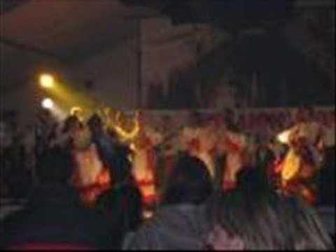 DJ Rekky Bee-dancing in the dark