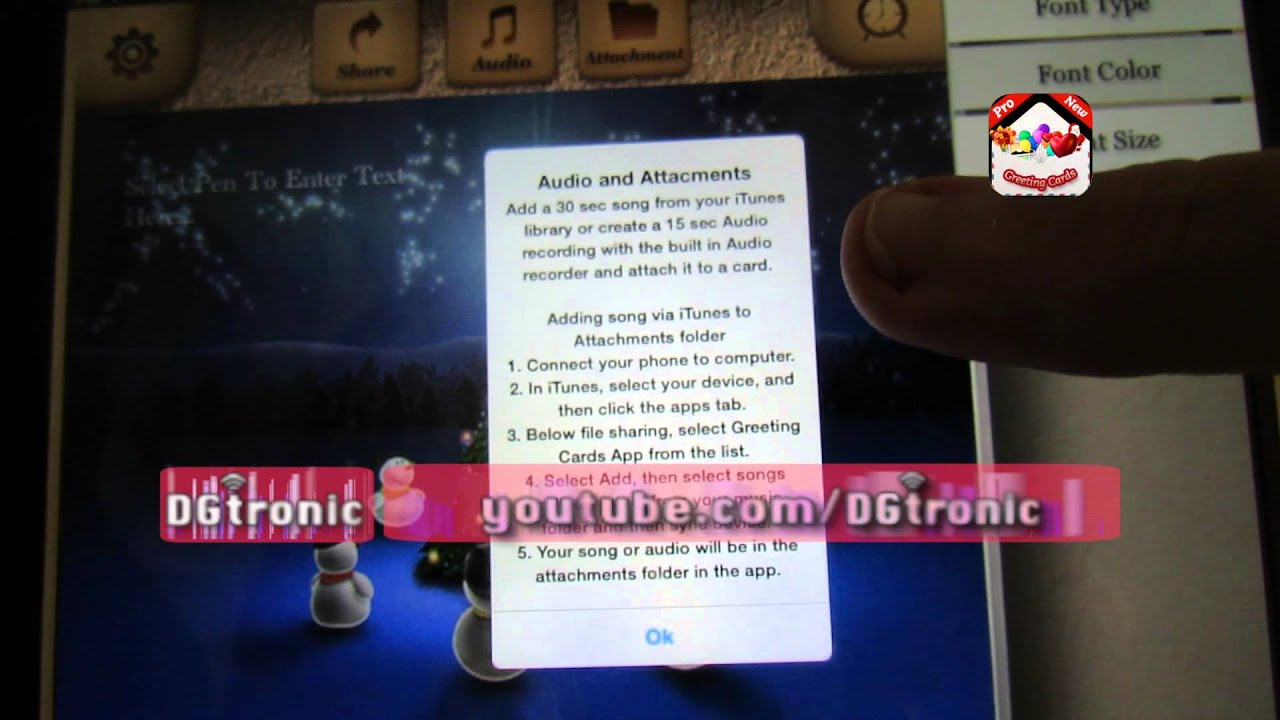 Ipad App Review Greeting Cards App Youtube
