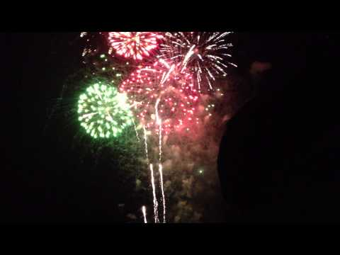 Fireworks Venetian Night 2015, Fox Lake, IL