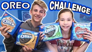 The Oreo Challenge (MattyBRaps vs Olivia Haschak)