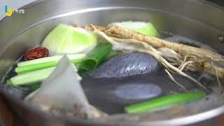 [육차식당] 오골계 삼계탕과 초계국수