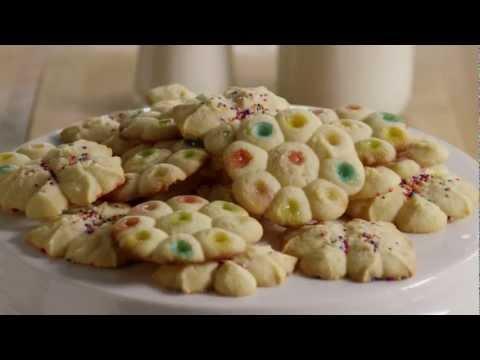 How to Make Spritz Butter Cookies | Cookie Recipe | Allrecipes.com