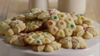 How To Make Spritz Butter Cookies
