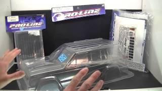 LARCCRAWLER25: Review On Jeep Cherokee Scale RC Body PT1