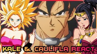Kale and Caulifla React to Dragon Ball Super: Broly Movie Trailer