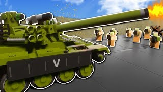 CITY DEFENSE BATTLE! - Brick Rigs Multiplayer Gameplay - Lego City Military Roleplay
