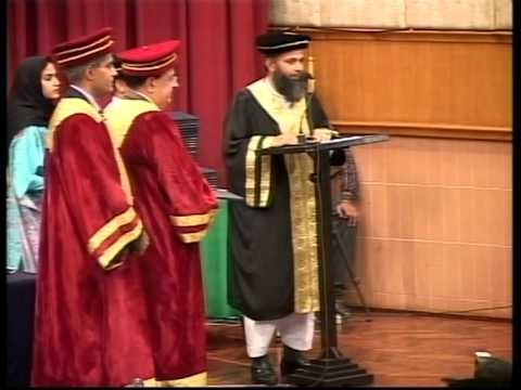 Ghulam Ishaq Khan Institute (GIKI) Convocation 2008 for Batch 14 Part 4