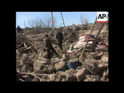 Iranian Military Camp At Ahwaz, Earthquake Devastates Area In North-West Iran, Aftermath, Campaignin