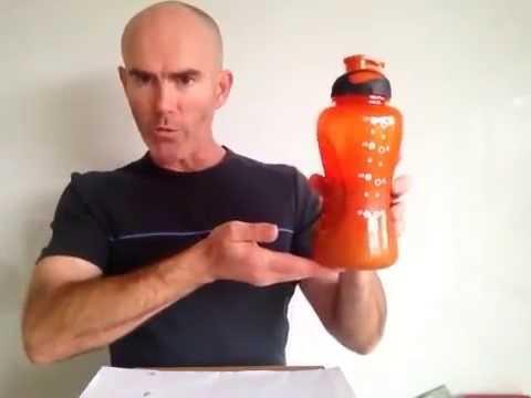 Supashaker Sports Drink Shaker Bottle Ice Shake Method