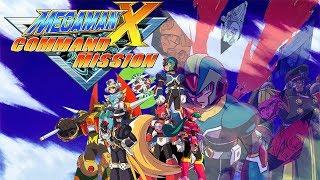 (LIVE) Megaman X Command Mission # 1 O final fantasy com robos e a operação FAIL