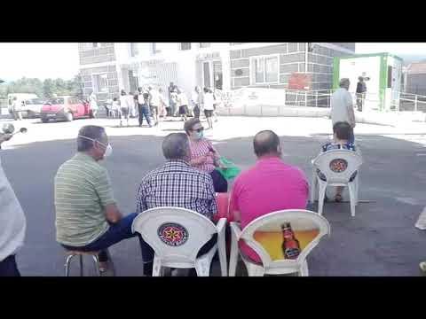 Los vecinos de Albarellos en Monterrei continuarán las protestas