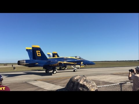 Blue Angels Wings Over Houston 2016