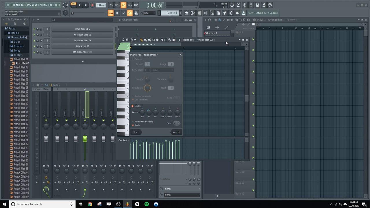 How to Randomize Velocity in FL Studio | Synaptic Sound
