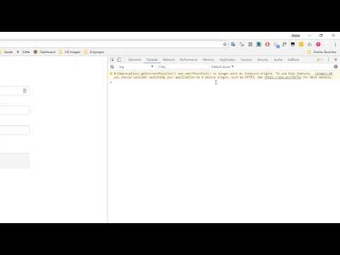Google Chrome Javascript Geolocation API Over HTTP For Testing Purposes