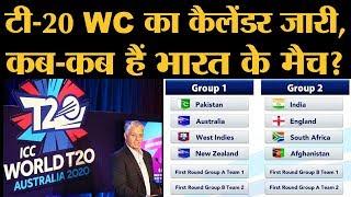 टी-20 World Cup 2020 में India के ग्रुप में England के अलावा कौन-कौन है?