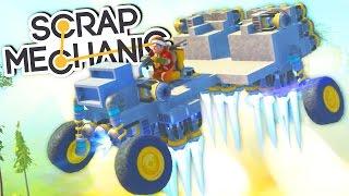 Scrap Mechanic - Супер-быстрый и летающий Багги 2