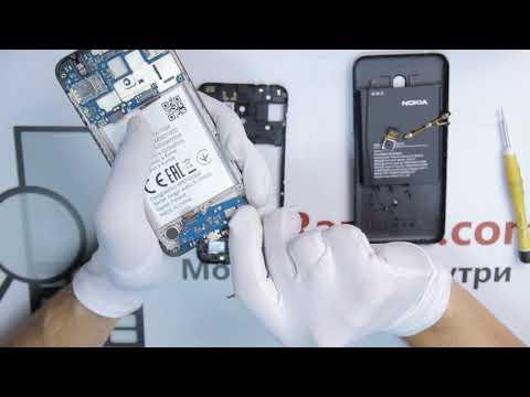 Инструкция как разобрать Nokia 2.2 TA-1188