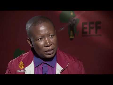 Julius Malema to Aljzazeera   give me a chance to speak or have this interview by yourself