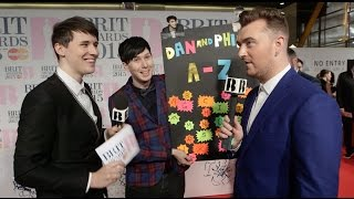Dan & Phil's BRITs A-Z | BRIT Awards 2015