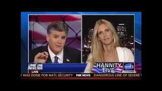 Ann Coulter Flips Out on Hannity Over Immigration: You