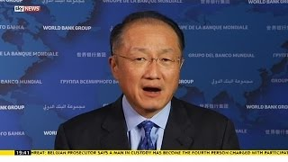 World Bank President Links Economy And Climate Change