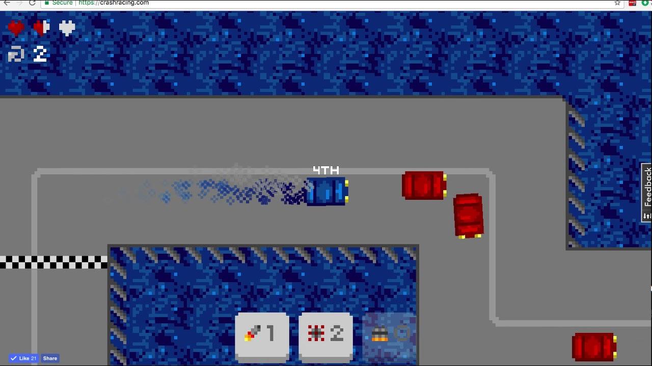 Crash Racing - Multiplayer Racing Game, Inspired by Rock'n