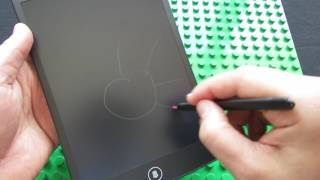 Unboxing HSP85 8.5 inch LCD Writing Tablet
