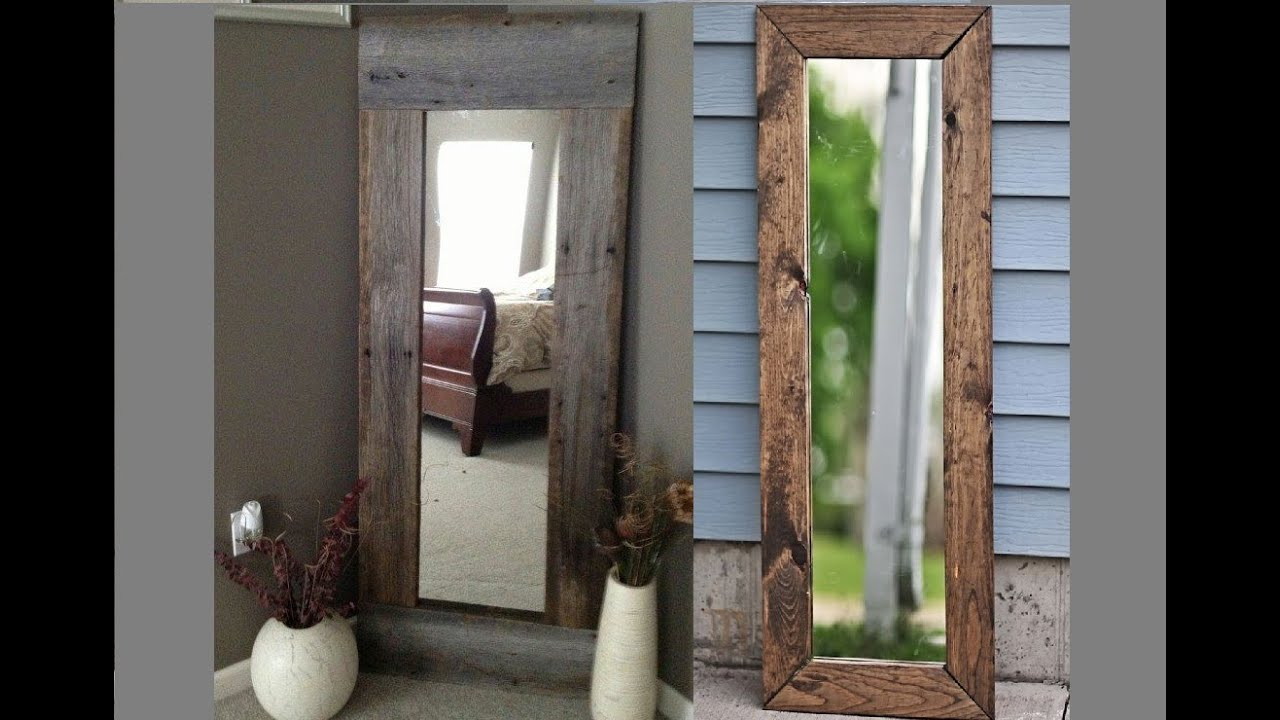 Rustic Full Length Mirrors Ideas - YouTube