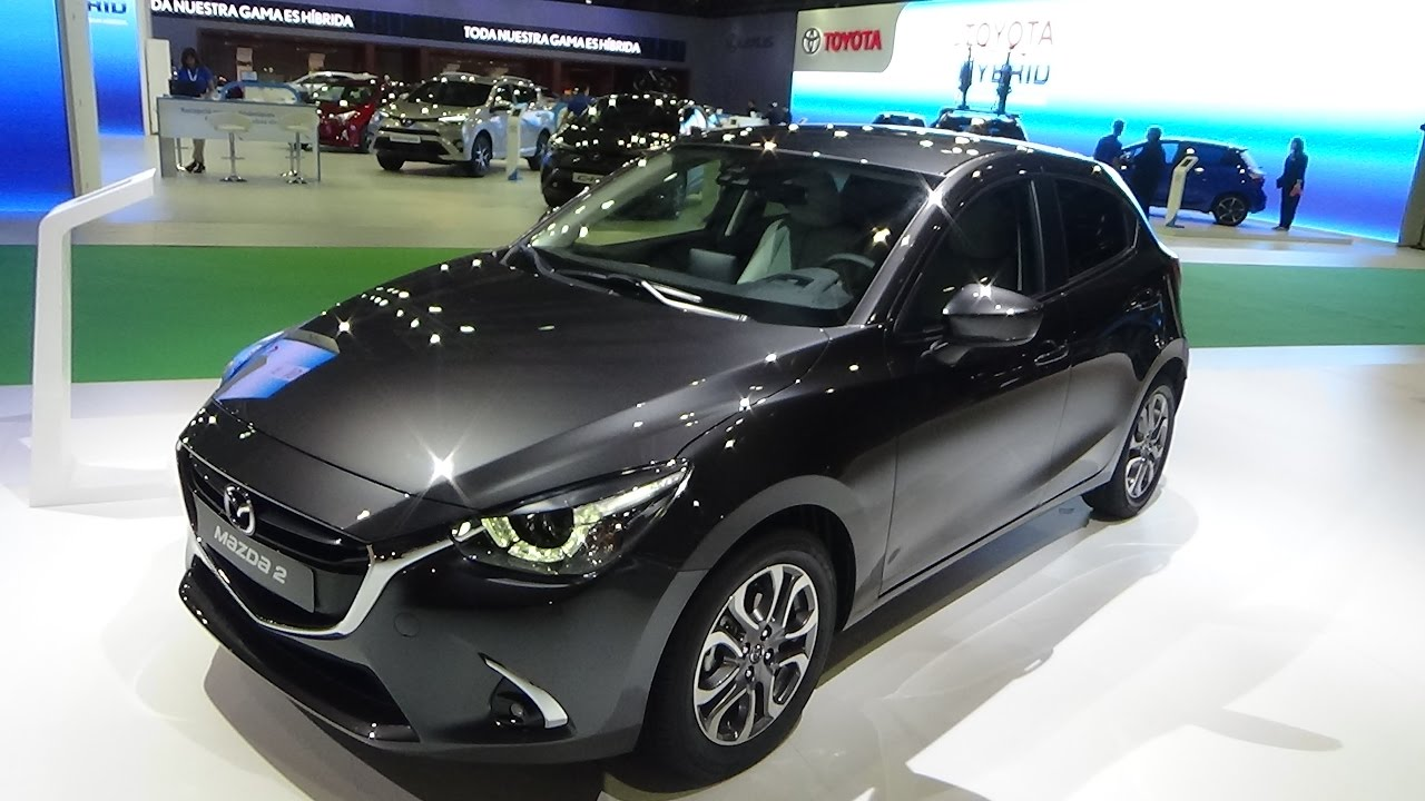 2018 Mazda 2 Exterior And Interior Automobile Barcelona 2017