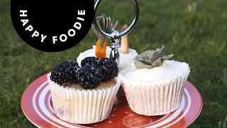 Milk And Blackberry Bunny Cupcakes | Miranda Gore-brown