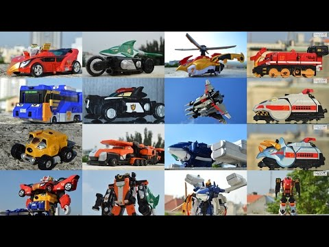 All DX Gattai Engine Sentai Go-Onger 2008! DX 炎神戦隊ゴーオンジャー! Power Rangers RPM Megazord!