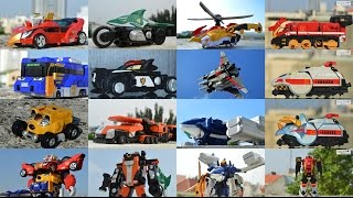 All DX Gattai Engine Sentai Go-Onger 2008! DX 炎神戦隊ゴーオンジャー! Power Rangers RPM Megazord!