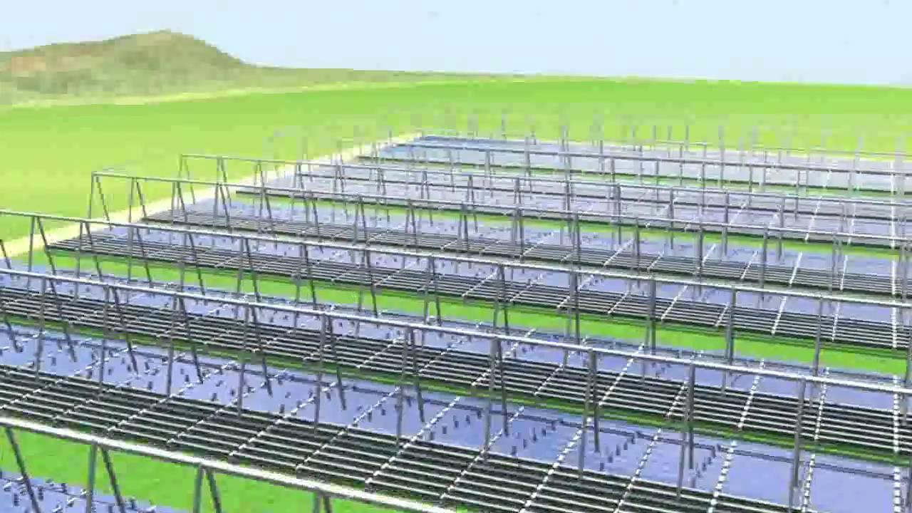 Concentrating Solar Power Plants 1 MWe - 10 MWe (Fresnel technology)