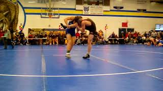 #6 Matthew Doyle (Independence) vs #7 Coy Ruess (West Liberty)