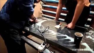 Этапы изготовления гранитного памятника (природный гранитный камень из Карелии)(, 2015-12-14T18:09:30.000Z)
