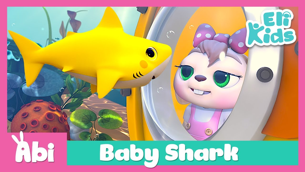 Baby Shark | Color Fun | Eli Kids Songs & Nursery Rhymes