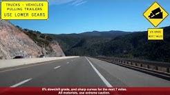 I-17 North (AZ), Descending Into The Verde Valley, Miles 265-288 (includes bonus footage)
