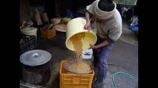 5㌔の大豆を洗うその2