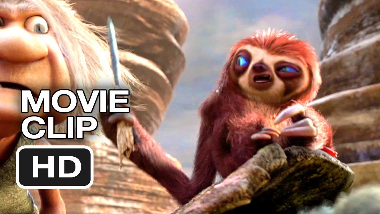 The Croods Movie CLIP - Road Trip (2013) - Emma Stone ...