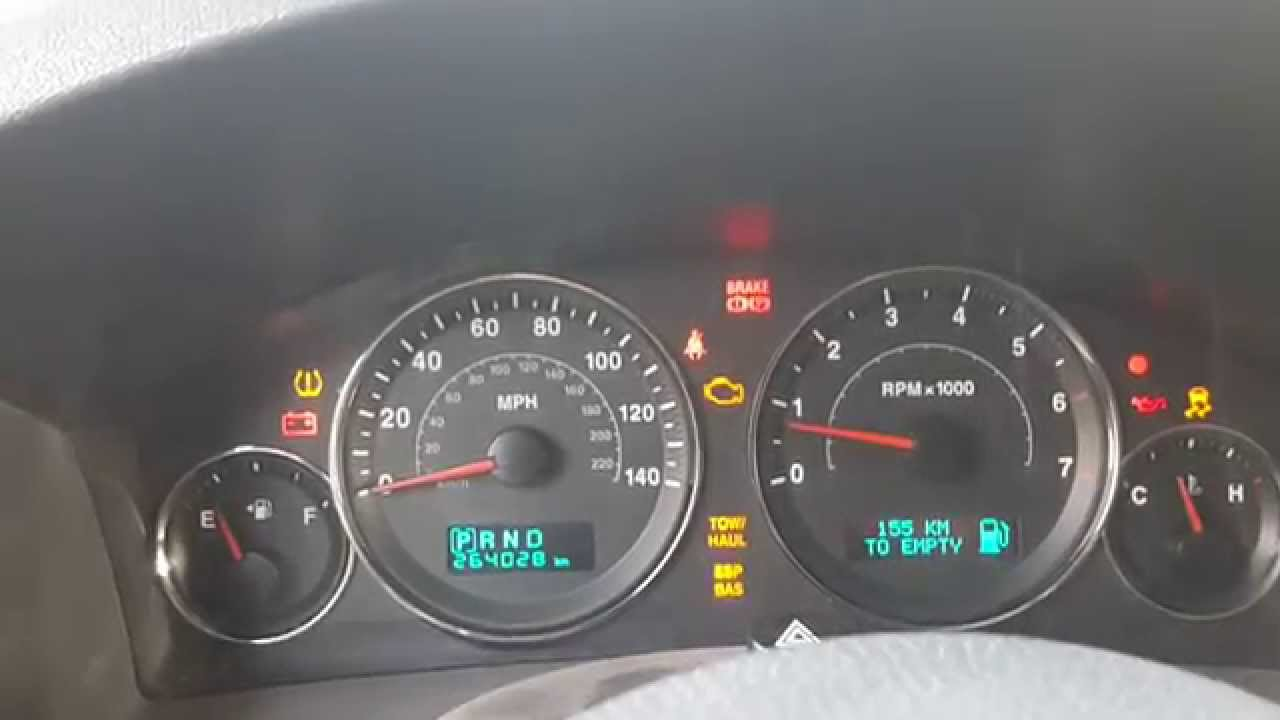 Ron Carter Jeep >> Jeep Grand Cherokee Warning Light Symbols ...