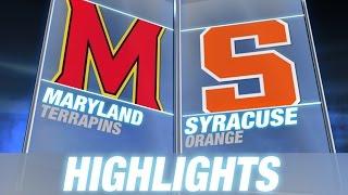 Maryland vs Syracuse | 2014 ACC Highlights