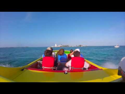 Crazy Horse Jet Boat Ride Bahamas