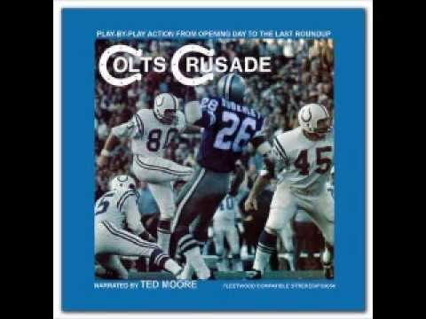 1970 Baltimore Colts - Colts Crusade LP (1 of 4)