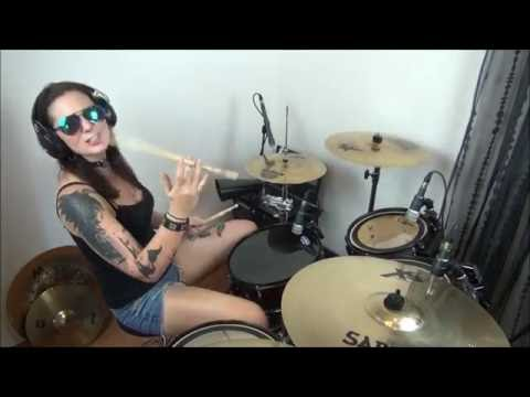 Meggy Adroit - Red Hot Chili Peppers - Suck my Kiss - DrumCover mp3