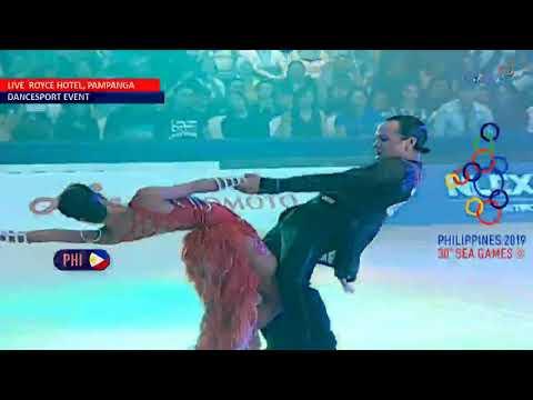 SEA Games 2019: Single Dance Jive — PH Performance   Dancesport