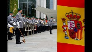 Ehrenkompanie - Spaniens Ministerpräsident Pedro Sánchez - Militärische Ehren